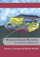 Cover image for Wireless sensor networks for healthcare applications