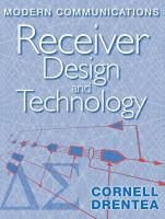 Cover image for Modern communications receiver design and technology