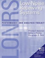 Cover image for LONRS low noise receiving systems : performance and analysis toolkit