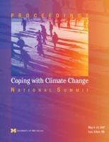Cover image for Coping with climate change : national summit proceedings