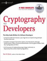 Cover image for Cryptography for developers