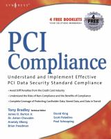 Cover image for PCI compliance : understand and implement effective PCI data security standard compliance