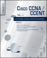Cover image for Cisco CCNA/CCENT exam 640-802, 640-822, 640-816 preparation kit