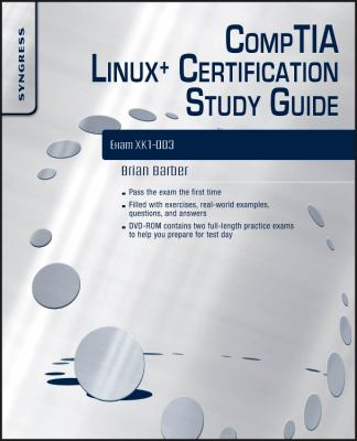 Cover image for CompTIA Linux+ certification study guide exam XK0-003
