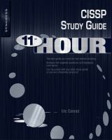 Cover image for Eleventh hour CISSP : study guide