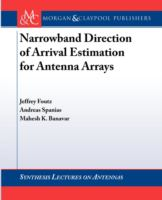 Cover image for Narrowband direction of arrival estimation for antenna arrays