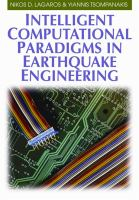 Cover image for Intelligent computational paradigms in earthquake engineering