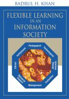 Cover image for Flexible learning in an information society