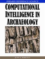 Cover image for Computational intelligence in archaeology