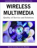 Cover image for Handbook of research on wireless multimedia : quality of services and solutions