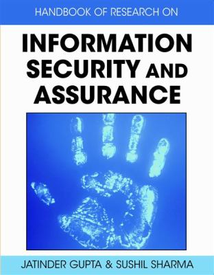 Cover image for Handbook of research on information security and assurance