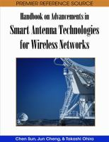 Cover image for Handbook on advancements in smart antenna technologies for wireless networks