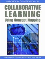 Cover image for Handbook of research on collaborative learning using concept mapping