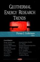 Cover image for Geothermal energy research trends