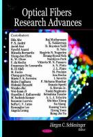 Cover image for Optical fibers research advances