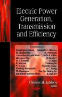 Cover image for Electric power generation, transmission, and efficiency