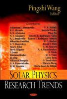 Cover image for Solar physics research trends