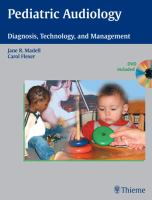 Cover image for Pediatric audiology : diagnosis, technology and management