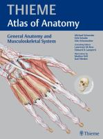 Cover image for Thieme atlas of anatomy. General anatomy and musculoskeletal system