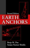 Cover image for Earth anchors