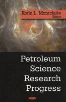 Cover image for Petroleum science research progress