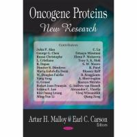 Cover image for Oncogene proteins. New research