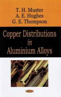 Cover image for Copper distributions in aluminum alloys