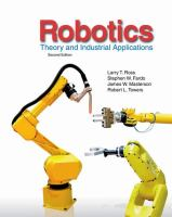 Cover image for Robotics : theory and industrial applications
