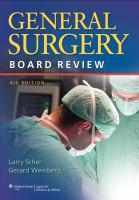 Cover image for General surgery board review