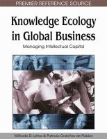 Cover image for Knowledge ecology in global business : managing intellectual capital