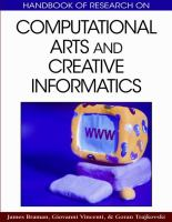 Cover image for Handbook of research on computational arts and creative informatics