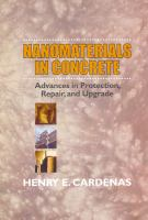Cover image for Nanomaterials in concrete : advances in protection, repair, and upgrade