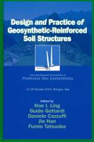 Cover image for Design and practice of geosynthetic-reinforced soil structures : honoring research achievement of Professor Dov Leshchinsky : 14-16 October 2013, Bologna, Italy