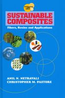 Cover image for Sustainable composites : fibers, resins and applications