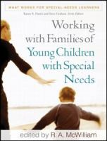 Cover image for Working with families of young children with special needs
