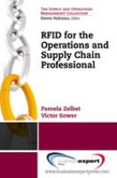 Cover image for RFID for the supply chain and operations professional