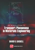 Cover image for An introduction to transport phenomena in materials engineering