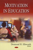 Cover image for Motivation in education