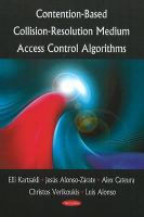 Cover image for Contention-based collision-resolution medium access control algorithms