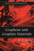 Cover image for Graphene and graphite materials