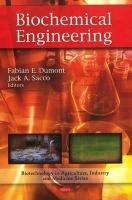 Cover image for Biochemical engineering