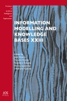 Cover image for Information modelling and knowledge bases XXIII