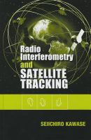 Cover image for Radio interferometry and satellite tracking