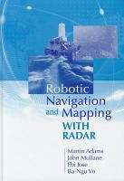 Cover image for Robotic navigation and mapping with radar