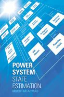Cover image for Power system state estimation