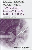 Cover image for Electronic warfare target location methods
