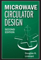 Cover image for Microwave circulator design