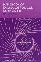 Cover image for Handbook of distributed feedback laser diodes