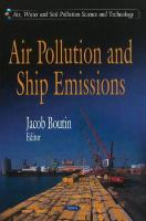 Cover image for Air pollution and ship emissions