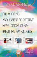 Cover image for CFD modeling and analysis of different novel designs of air-breathing PEM fuel cells